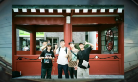香港のBMXシーン、4PC GANG