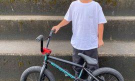 9歳のインターナショナルライダー