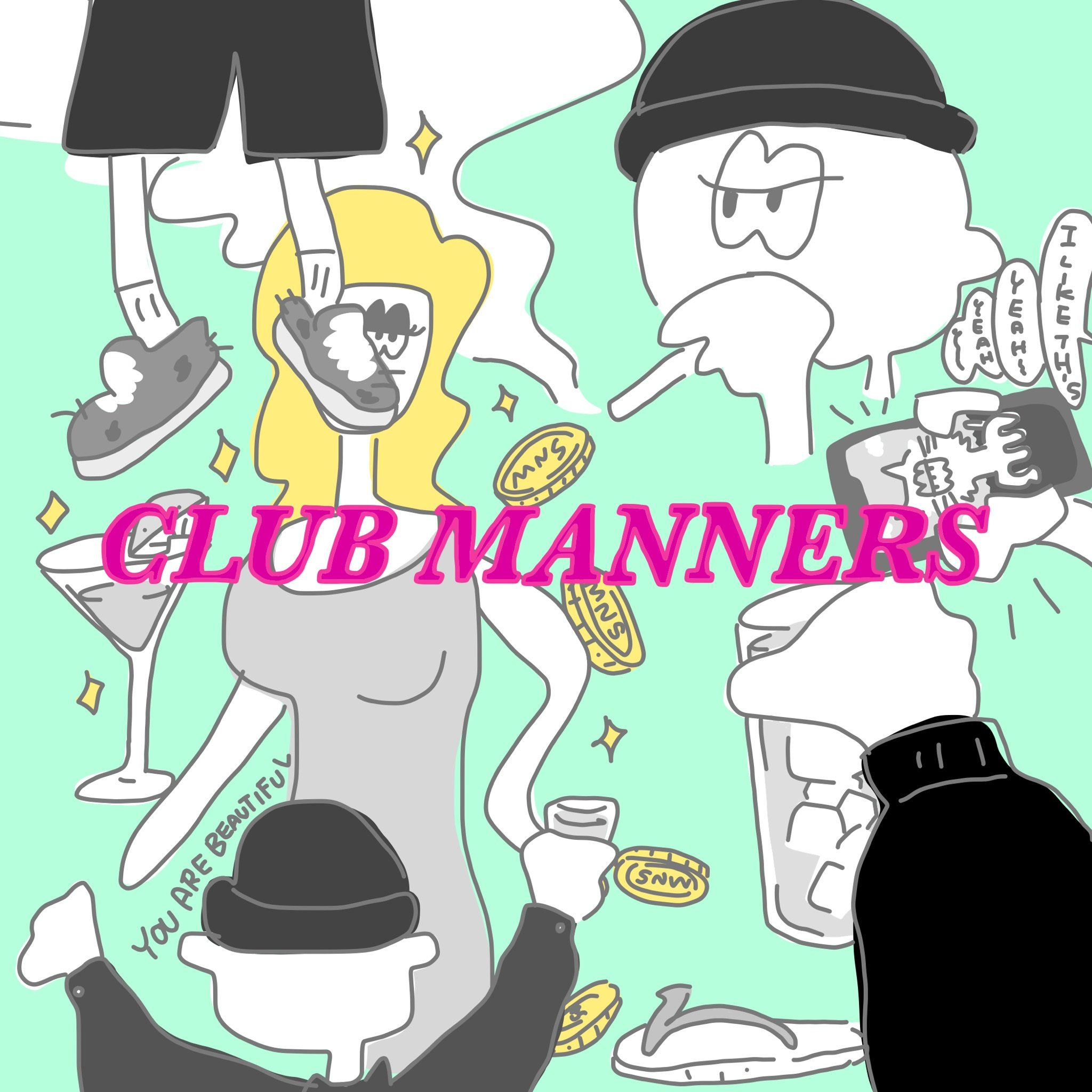 Club Manners by MANNERS KNOWS
