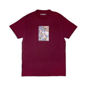 CROSSOVER LIMITED T-Shirt/BURGUNDY+DVD