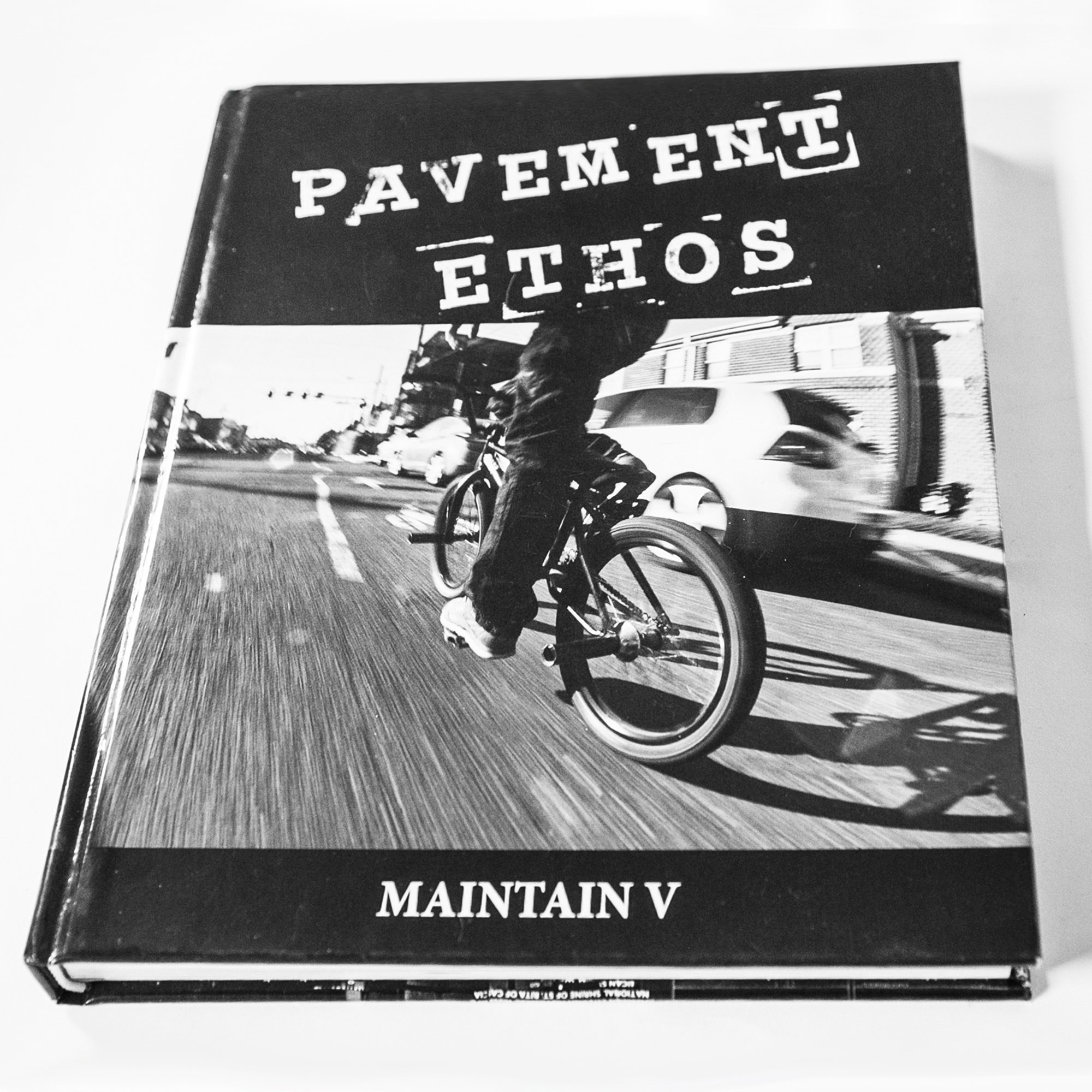 """You are currently viewing MAINTAIN V """"PAVEMENT ETHOS"""" BOOK BY ROB DOLECKI"""